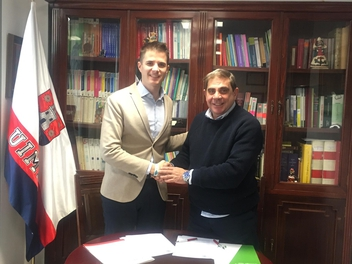 La UIM Firma convenio de colaboración con el CLUB DE MARKETING DE GRANADA